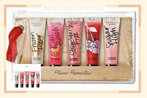 Victoria's Secret FLAVOR FAVORITES 5 Pieces HOLIDAY LIP GLOSS GIFT SET New