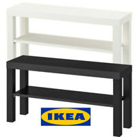 Ikea LACK TV Bench Table Stand LCD LED Bed Sitting Room, 90x26cm 2 Colours