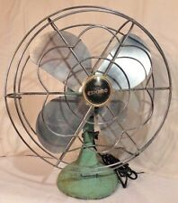 "Antique Vintage McGraw Edison Co. Eskimo 10"" Oscillating Fan Model 1005R"