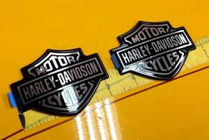 Genuine Harley Fuel Tank  Emblems Badges Dyna Sportster Softail Street OEM