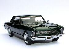 1965 Buick Riviera Gran Sport Verde Green 1:24 Automodello 24B015