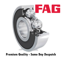 FAG 6302 2RS / 2RSR C3 Rubber Sealed Deep Groove Ball Bearing 15x42x13mm