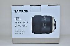 Tamron sp 45mm f/1.8 Di VC USD G2 for Nikon, Mint