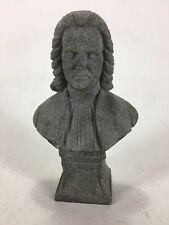 Vintage J.S.Bach Sculpture Bust Statue By A.L. Faro