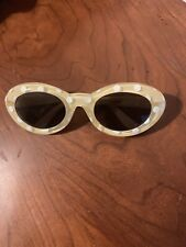 Gymboree Yellow Polka Dot Sunglasses In A Size 0-2 Years