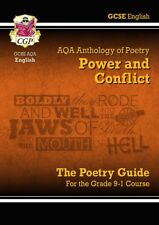 New CGP GCSE English Literature AQA Poetry Guide: Power & Conflict Anthology 9-1