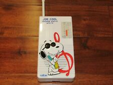 PEANUTS JOE COOL SHOWER RADIO -SALTON