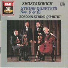 Shostakovich: String Quartets Nos. 5 & 15 : Borodin String Quartet