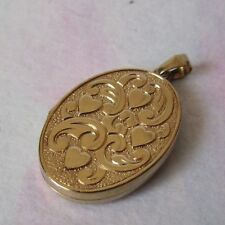 9ct GOLD HALLMARKED OPENING LOCKET