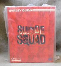 One 12 DC Suicide Squad Harley Quinn Margot Robbie Action Figure Mezco 1/12 Rare