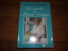 LES RECETTES DE MARIE LOUISE CORDILLOT cuisine   R3012