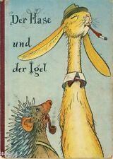 Grimm Der Hase und der Igel Märchen Bilder von Heiri Strub 1958