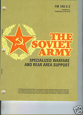 The Soviet Army, Specialized Warfare, Rear Area Support