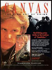 CANVAS__Original 1992 Trade Print AD / movie promo__GARY BUSEY__John Rhys-Davies