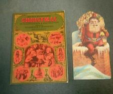 An Old-Fashioned Christmas in Illustration & Decoration 1970 / Paperback, VGC