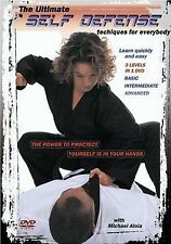 ULTIMATE SELF DEFENSE TECHNIQUES (DVD) learn how to fighting SEALED NEW