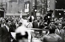 "GEORGE S. ZIMBEL Signed Photograph - ""Jacqueline & John F. Kennedy, N.Y.C. 1960"""