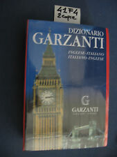 DIZIONARIO GARZANTI INGLESE-ITALIANO ITALIANO-INGLESE (coll. corretta 47 F 4)
