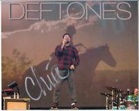 "Deftones Chino Moreno Signed Autograph 8""x10"" Photo"