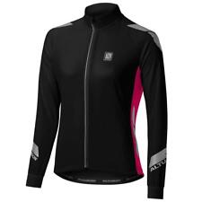 Altura Night Vision Commuter Womens Cycling Jersey 2015 14 Raspberry Pink/black
