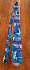 "JERRY GARCIA TIE ""Collection Forty"" Limited Edition ""Floating Planes"" Blue"