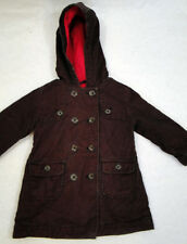 Baby Gap Button Down Hooded Jacket Fleece Lined 2T