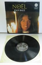 Joan Baez Noel LP Vinyl Record Amadeo AVRS 9215 French Press