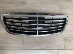MERCEDES BENZ S CLASS W222 2016 A2228800883 FRONT GRILLE