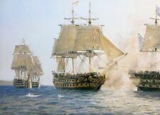 Geoff Hunt Limited Edition Print - H.M.S. Sutherland's Last Battle