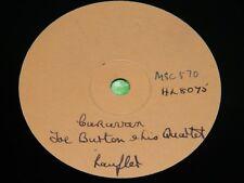 JOE BURTON QUARTET : Caravan - 1954 UK single sided London Demo 78rpm