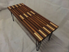 bespoke modern hardwood Coffee Table  hand crafted in Sapele Wenge Ash lovely