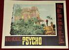 Original 1960 PSYCHO 11 x 14 Lobby Card # 3! Classic Norman Bates & House image!