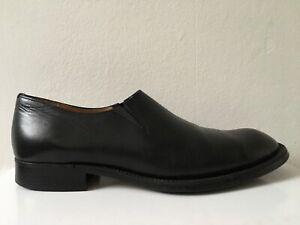Black COMME DES GARCONS Chelsea Shoes Slip On Flats 24 5 38 7