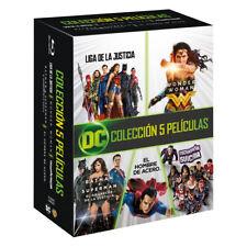 PELICULA BLURAY PACK DC COMICS PRECINTADA (BATMAN + SUPERMAN + WONDERWOMAN+ETC)
