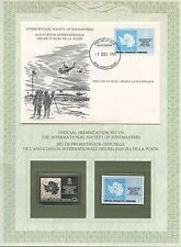 FIRST DAY OF ISSUE / 1° JOUR / STAMP / TIMBRE ARGENT / BRITISH ANTARTIC 1981