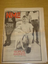 NME 1981 SEP 5 CABARET VOLTAIRE PAUL WELLER METEORS