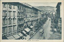 Trieste - Via Cesare Battisti  - non viaggiata 1942