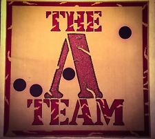 Last1! 80s A-Team Ateam Mr.T Mr T He-Man gi joe motu Tv Show VTG t-shirt iron-on