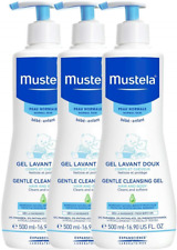 Mustela Gentle Cleansing Gel 3 x 500 ml