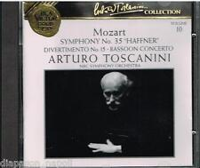 Toscanini Collection Vol. 10 - Mozart: Sinfonia N. 35 Haffner, Divertimento - CD