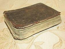 Rare Book Of Itinerarium Totius Sacrae Scripturae - Henry Bunting  - 1636