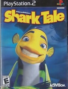 DreamWorks' Shark Tale (Sony PlayStation 2, 2004) PS2 GAME COMPLETE TESTED!!!