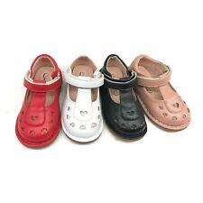 Niños Niñas Niños Plano Boda Fiesta Escuela Mary Jane Dolly Zapatos De Salón Talla 3-7