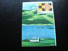 FRANCE - carte 1er jour 29/1/1994 (sean scully) (cy45) french