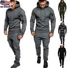 Men's Sweater Hoodies Track Pants Casual Sports Jogging Bottoms Joggers Trousers