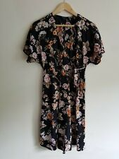 New Look maternity Size 10 short sleeve lightweight floral dress