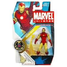 Marvel Universe 3.75inch Series 1 021 Iron Man Classic Hasbro Rare 2008 MISB