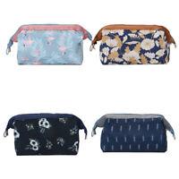 Purse Box Travel Bag Makeup Cosmetic Bag Toiletry Pencil Case US NEW