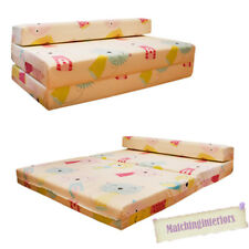 Double Kids Folding Guest Bed Cat Nap Kittens Sofabed Sofa Mattress Sleepover