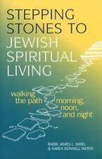 STEPPING STONES TO JEWISH SPIRITUAL LIVING - NEW PAPERBACK BOOK